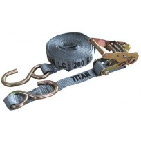 Tiedown - 0.4T Titan Grey S/HK 25mm 5.5m | Tie Downs | Trailer Parts