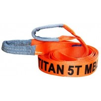 5T (MBS) Orange Vehicle Tow Strop 3.65m | Recovery Equip | Tow Strops  | Tow & Recovery Equip