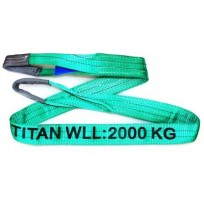Websling - 2T Titan Extra Wide Green 2PLY 60mm | Websling -  Titan 1.0T to 15.0T WLL