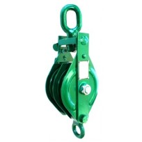 Pulley - Double Snatch Block | Pulley Blocks & Sheaves | Rated Pulleys