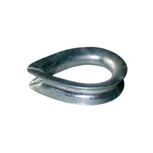 Thimble BS464 - HDG Industrial | Thimbles HDG BS464 | Wire Grips & Thimbles | Wire Rope & Assessories