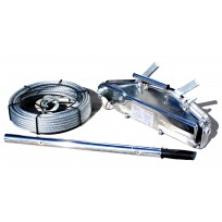 Titan Winch 1.6T Lift / 2.5T Pull | Cable Hand Winch & Rope | Recovery Equip | Recovery Winches