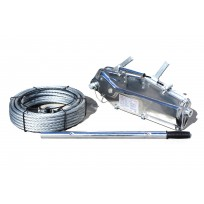 Titan Winch 3.2T Lift / 5T Pull | Cable Hand Winch & Rope | Recovery Equip | Recovery Winches