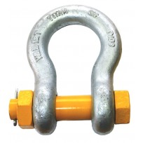 Shackle - Titan Safety Anchor Bow (4Pce) | Shackle - Rated | Recovery Equip | 4 X 4 Attachments  | Titan Yellow Pin