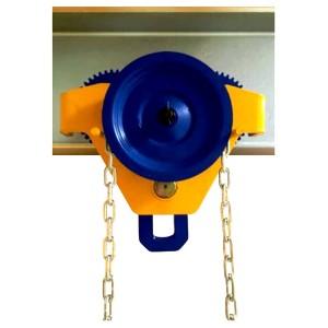 Geared Trolley - Titan | Trolley - Push, Gear & Pipe Type