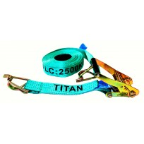Tiedown - 2.5T Titan Green 12.5m c/w Sleeves | Tie Downs
