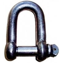 Shackle - Mild Steel Black   Shackle & Clevis Links   Shackle - Mild Steel Black Dee   Mooring & Studlink Chain