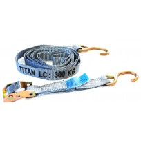 Tiedown - 0.3T Titan Grey Cam S/HK 25mm 3.2m | Tie Downs