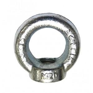 Metric Collard Eye Nut - ZP Din582   Eye Bolt & Eye Nut   Metric DIN580 & 582