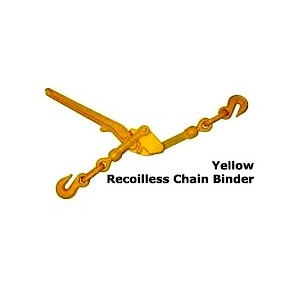 6-8mm BX600 Loadbinder - Re-Coil Less Yellow | Loadbinders - Chain Twitch