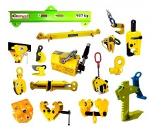 Clamp, Trolley, Spreader Bar, Load Cell, Magnets