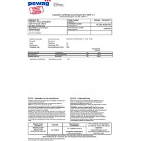 PEWAG Certificates   Product Certificates