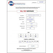 AMG Transport Chain & Fittings   Product Certificates