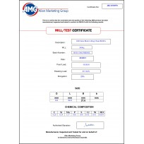 AMG Lifting Chain & Fittings   Product Certificates