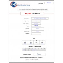 AMG Marine Chain Certificates | Product Certificates