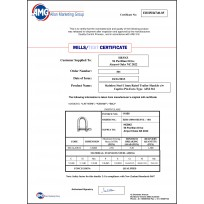 Stainless Product Certificates | Product Certificates