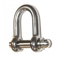Shackle - PEWAG Rated Stainless Screw Pin | Shackle - Rated | Shackles & Karabiners | Rated Lifting Products