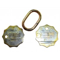 ID Tag - Pewag G100 Chain Sets   Product Inspection   Identification Tag