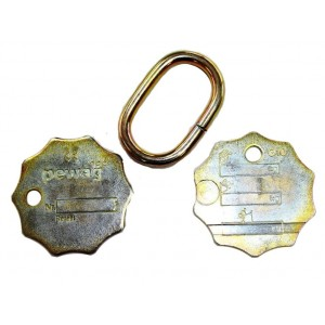 ID Tag - Pewag G100 Chain Sets | Product Inspection | Identification Tag