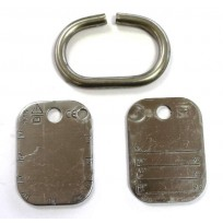 ID Tag - Chain Sets Heavy Duty  | Tags & Product Inspection | Identification Tag