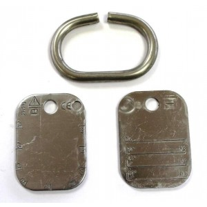 ID Tag - Chain Sets Heavy Duty  | Product Inspection | Identification Tag