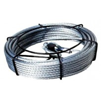 Titan Tugger 20m Wire Rope Pack   Cable Hand Winch & Rope