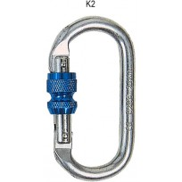 Karabiner - Steel Screwgate Oval 22kN | Spanset Attachments