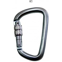 Karabiner - Steel Screwgate D 50kN | Spanset Attachments