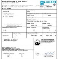 THIELE G80 Certificates   Product Certificates