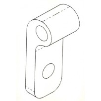 Hinge Plate Drilled - Bolted   AG OEM Items