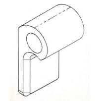 Hinge Plate Short - Welded   AG OEM Items