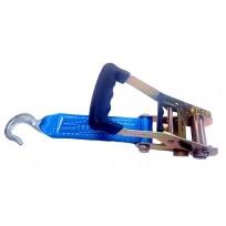 50mm Ratchet c/w 230mm Tail Strap & 1.0T Slip Hk | Recovery Vehicle Lashing