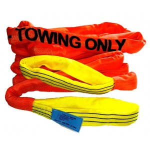 TiTAN Big Polyester Endless Sling Covered Towing Line | Titan Big Towing Lines | Tow & Recovery Equip