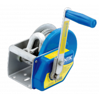 Winch - 300kg Auto Brake 5:1 c/w W.Cable & Hk | Atlantic Brake Winches | Winch - Lifting