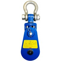 8T WLL PWB Yoke Snatch Block 200mm | PWB Yoke Snatch Blocks | Pulley Blocks