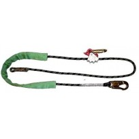 Pole Rope 2.5m c/w Adjustable Alloy Grab | QSI Height Safety NZ