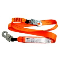 2.0m Web Lanyard c/w Double Action Hooks | QSI Height Safety NZ