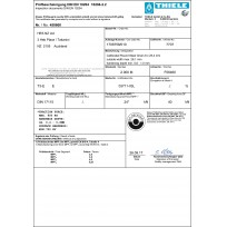 THIELE Certificates - Poulty Etc... | Product Certificates