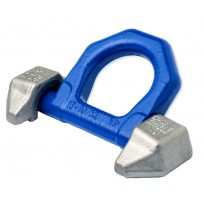 Thiele G100 Lashing Eye - Twin Weld On | Weld-On Lifting Fittings | THIELE G100 Chain & Fittings | Thiele Lifting Points  | Fittings - Rated G70 & G80 | Eye Bolt & Eye Nut