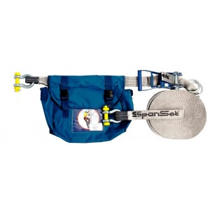 Spanset Horizontal Safety Line 18m - 2 Person   Spanset Attachments