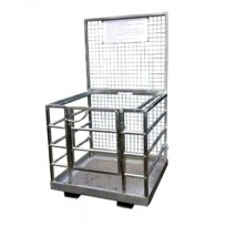 250kg Forklift Man Cage - 2 Person | Clearance Specials | Lifting Spreader Bars