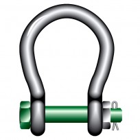 Big Mouth Safety Bow Shackle 4Pce | Shackle - Rated