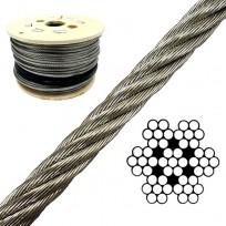 Galv Wire Rope - 7X7 | Wire Rope - Galvanized