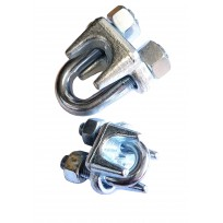 Wire Grip - Heavy Duty Electro Plated G-450 Type | Wire Grips & Thimbles | Wire Rope & Assessories