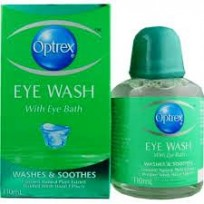 OPTREX Eye Wash c/w Bath 110ml | First Aid
