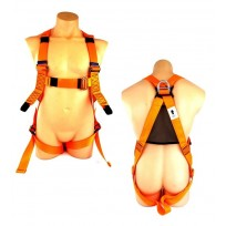 HES Standard Full Body Orange Harness | QSI Height Safety NZ