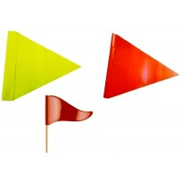 Hi Vis Triangle Flag | Signage & Flags