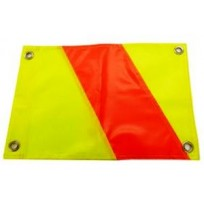 Traffic Management Day Flag c/w Eyelets (Pair)