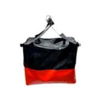 Lifting Bag - 80KG Med-Square Red/Black   Lifting Equipment Bags