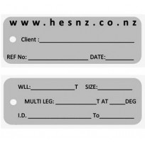HES Standard ID / WLL Alloy Tag | Tags & Product Inspection